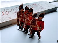 The British Army Infantry (Paper Toy by Raphael Tuck) Circa: 1904