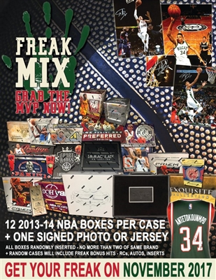2013-14 Freak Mix 12 Box Case FILLER #13