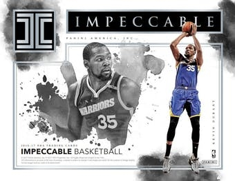 2016-17 Impeccable Case Break FILLER #6