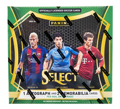 PICK A PACK 2016-17 Select Soccer
