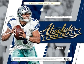 2017 Absolute Football Case Break FILLER #10 (1 Team)