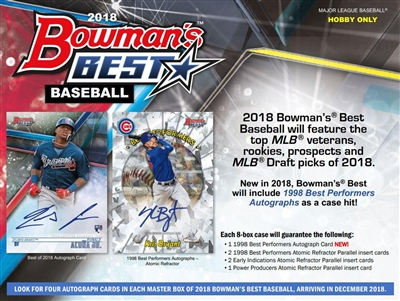 Pick a Pack 2018 Bowmans Best Baseball