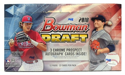 PICK A PACK 2018 Bowman Draft Jumbo