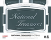 2018 National Treasures Tiered Serial # Case #2 (3 numbers)