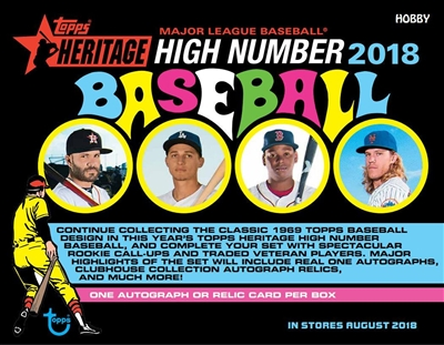 Pick a Pack 2018 Topps Heritage High Number