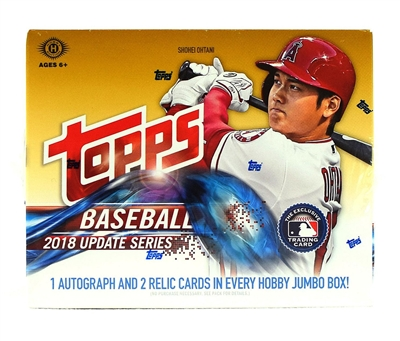 PICK A PACK 2018 Topps Jumbo Update