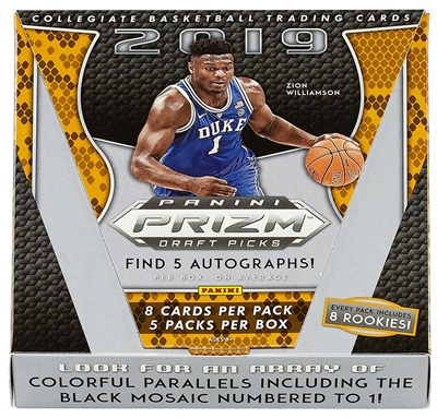 2019-20 Prizm Draft 8 Box Half Case Break #5 (1 Team) OS Style