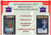 2019 Break King Premium Football Case Break #1 (1 Player) OS Style