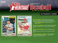 Pick a Pack 2019 Topps Heritage
