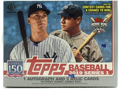 PICK A PACK 2019 Topps Jumbo Series One Baseball*