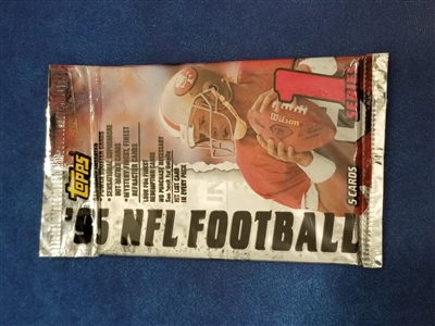 DPS-1995 Topps Football Pack