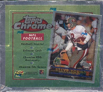 PICK A PACK 1996 Topps Chrome Football