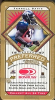 PICK A PACK 1997 Preferred Football Tin SUPER SALE