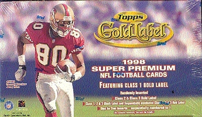 PICK A PACK 1998 Topps Gold Label Football