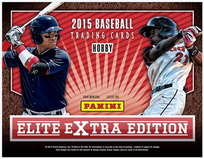 PAP 2015 Elite Extra Edition Baseball #7