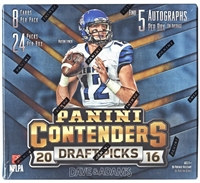 PAP 2016 Contenders Draft Football #6