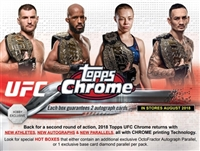 PAP 2018 Topps Chrome UFC #4