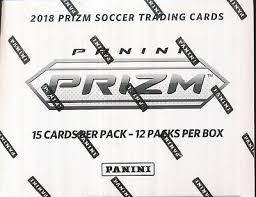 PAP 2018 Prizm Soccer World Cup Cello Pack #2