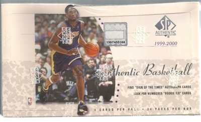 PAP 1999-00 SP Authentic Basketball #3