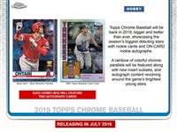 PAP 2019 Topps Chrome Baseball HOBBY #69