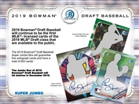 PAP 2019 Bowman Draft Super Jumbo Baseball #2