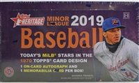 PAP 2019 Topps Heritage Minor League #10