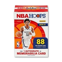 PAP 2020-21 Hoops Blaster Box Pack #7