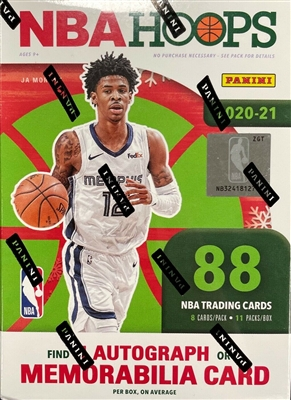 PAP 2020-21 Hoops HOLIDAY Blaster Box Pack #9