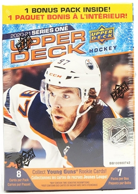 PAP 2020-21 Upper Deck Series One Blaster #1