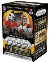 PAP 2020 Prizm FANATICS Blaster Pack Football #1