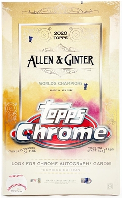 PAP 2020 Allen & Ginter Chrome Hobby #13