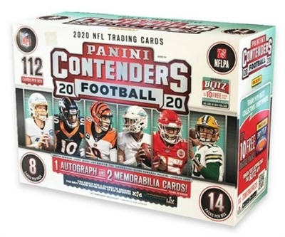 PAP 2020 Contenders Football Mega Pack #10