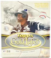 PAP 2020 Gold Label Baseball #9
