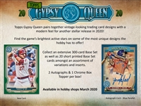 PAP 2020 Gypsy Queen Baseball #14