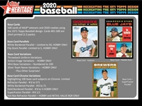 PAP 2020 Topps Heritage #20