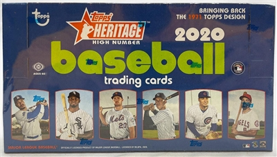 PAP 2020 Topps Heritage High Number Hobby #9