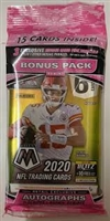 PAP 2020 Mosaic Football Cello Pack #63