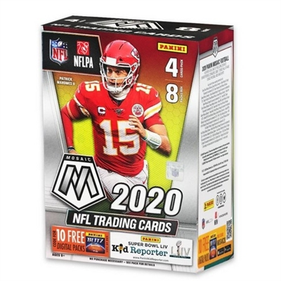 PAP 2020 Mosaic Blaster Pack Football #27