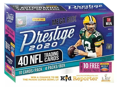 PAP 2020 Prestige Football Mega Box Pack #1