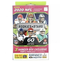 PAP 2020 Rookies & stars  Football Hanger Box #1