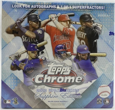 PAP 2020 Topps Chrome Sapphire Update #3