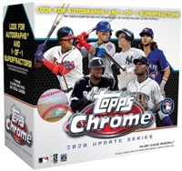PAP 2020 Topps Chrome Update Mega Pack #3