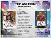 PAP 2020 Topps Chrome WWE #6