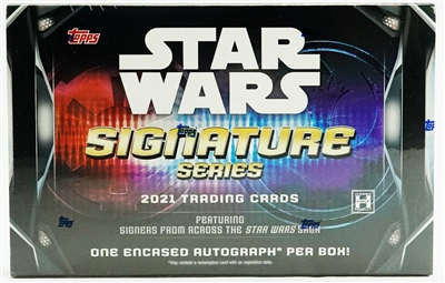 PAP 2021 Topps Star Wars Signature Edition #1