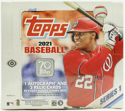 PAP 2021 Topps Series One Jumbo #26