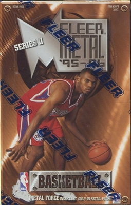 PAP 1995-96 Fleer Metal Series 2 Basketball #3