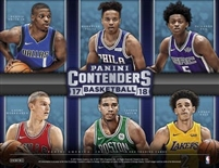 PICK A PACK 2017-18 Contenders BK