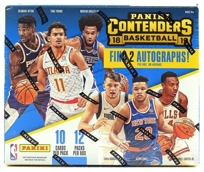 PICK A PACK 2018-19 Contenders BK