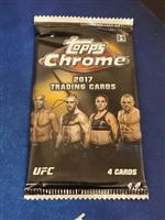 Dead Pack 2017 Topps Chrome UFC