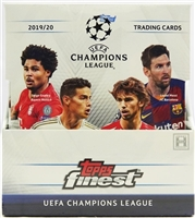 Dead Pack 2019-20 Topps Finest UEFA Champions